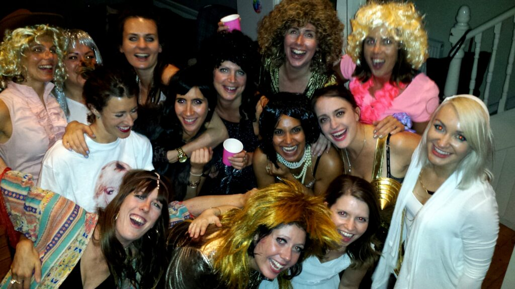 Pianoman - pop divas themed hen party...