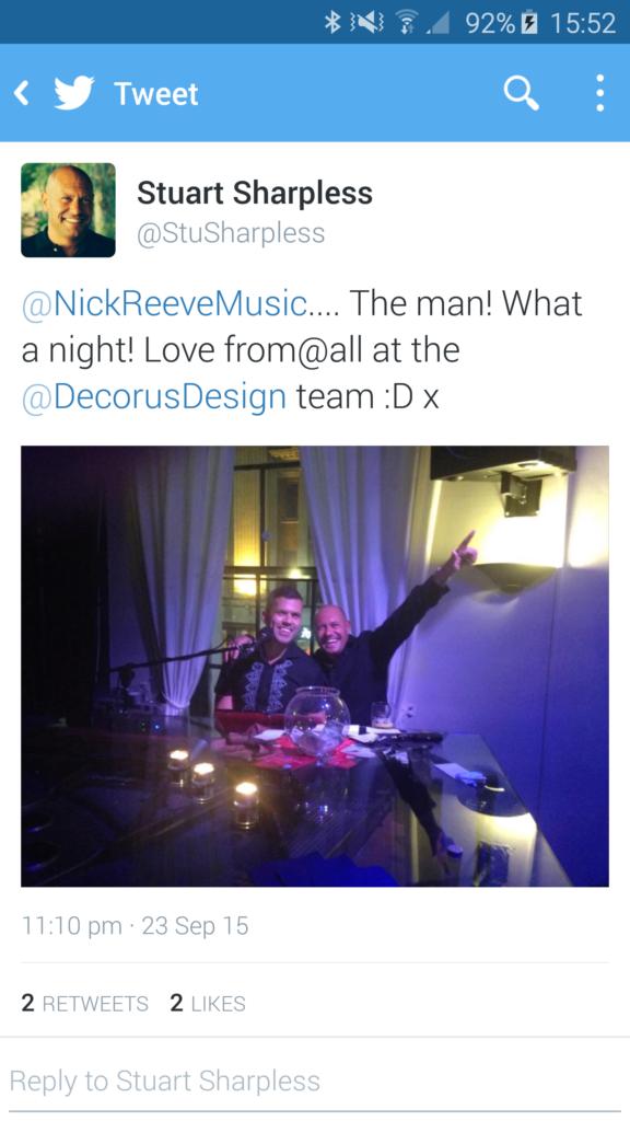 Pianoman tweet